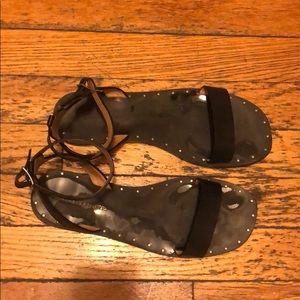 Banana Republic studded sandal
